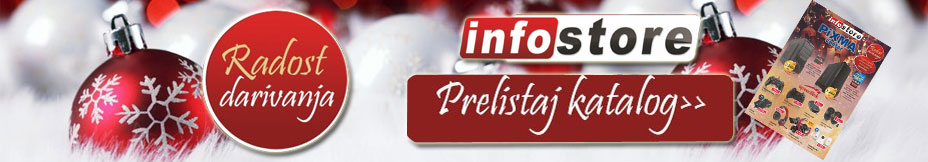 Index stranica Infostore