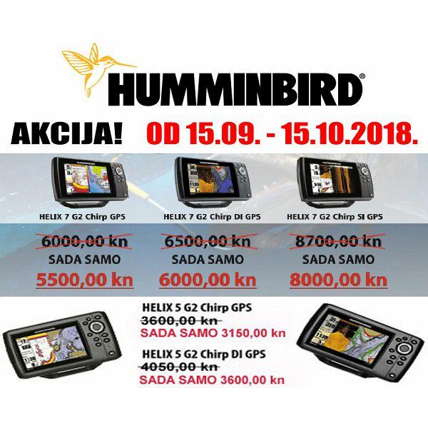 PRODULJENA AKCIJA HUMMINBIRD UREĐAJA  DO 15.10.2018