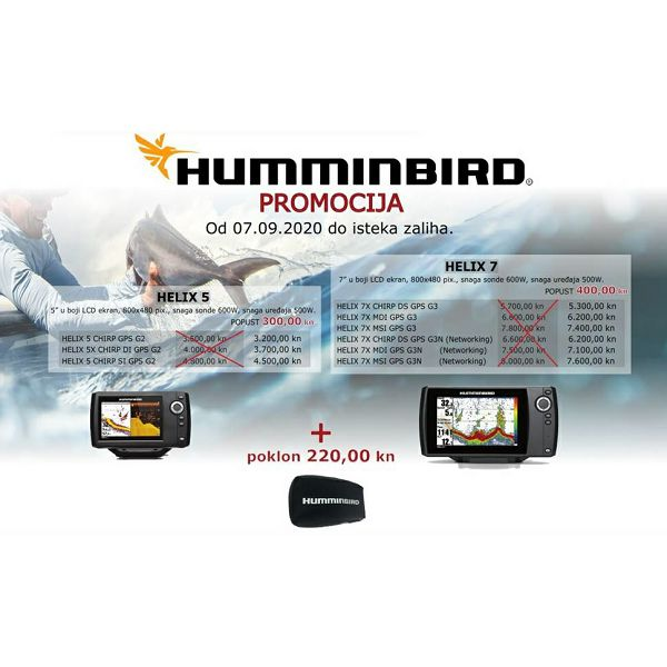 Pixma centar & HUMMINBIRD promocija od 07.09.2020!!!