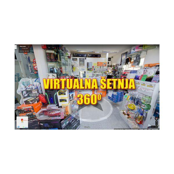 Prošetajte virtualno našim centrom...