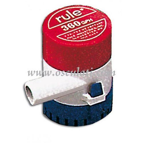 Pumpa RULE na uranjanje 360
