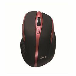 MS MSI FOCUS M110 bežični miš crveni
