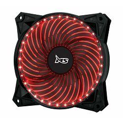 MS PC FREEZE 33LED crveni ventilator za kućište