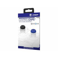 Snakebyte PS4 Control:Caps (4x plavi, 4x crni)