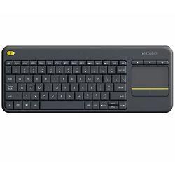 Tipkovnica bežična Logitech K400 + Wireless Touch Keyboard