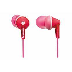 PANASONIC slušalice RP-HJE125E-P roze, in ear