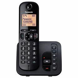 PANASONIC telefon bežični KX-TGC220FXB (TAM) sekretarica crn