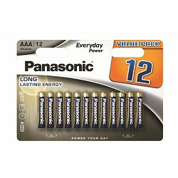 PANASONIC baterije LR03EPS/12BW Alkal. Everyday Power