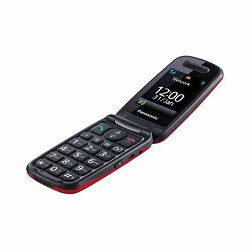 MOB Panasonic KX-TU456 EXCE crveni, preklopni, otporni, SOS