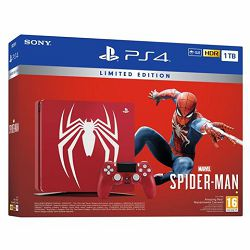 GAM SONY PS4 1TB F chassis Limited Edition + Spider-Man