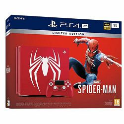 GAM SONY PS4 Pro 1TB B chassis Special Edition + Spider-Man