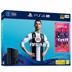 GAM SONY PS4 Pro 1TB B chassis + FIFA 19 Stnd. Ed. + 14 Days