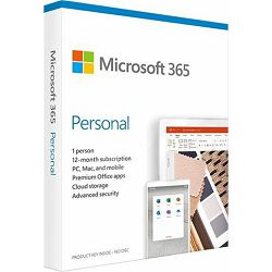 FPP Microsoft 365 Personal 1YR Medialess P6 ENG, QQ2-00989