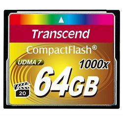 Memorijska kartica Compact Flash Transcend 64GB 1000X TS