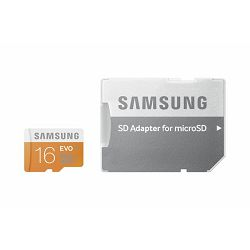 Memorijska kartica Samsung SD micro 16GB EVO Adapter up to 4