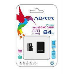 Memorijska kartica Adata SD MICRO 64GB HC Class 10 UHS-I 85-