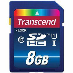 Memorijska kartica Transcend SD 8GB TS8GSDU1