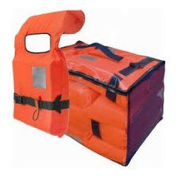 BESTO Set od 4 prsluka za spašavanje sa spremnikom, za odrasle