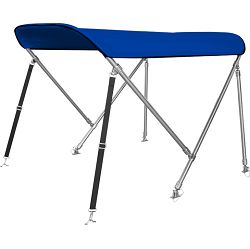 Bimini tenda s 2 luka, 150x210cm, INOX