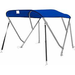 Bimini tenda s 3 luka, 240x135cm, INOX