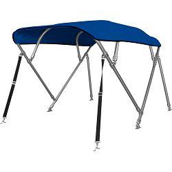 Bimini tenda s 4 luka, 280x135cm, INOX