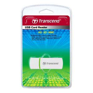 Čitač kartica Transcend P5 bijeli