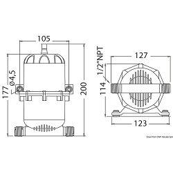 Ekspanzioni tank, Osculati 1612700