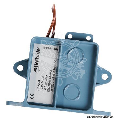 Električni prekidač automatski WHALE za kaljužne pumpe