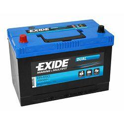 EXIDE baterija Dual 12V 95Ah +L