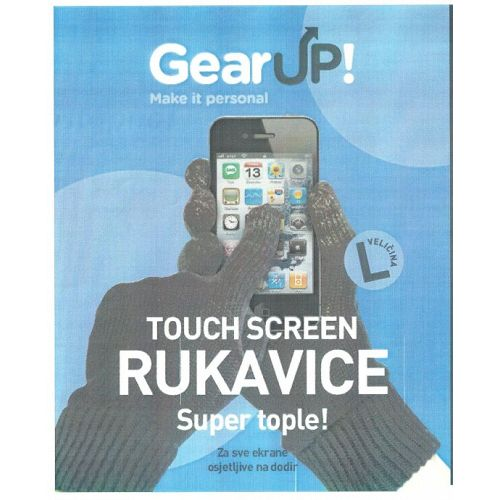 GearUP! Smart Touch Blutooth rukavice