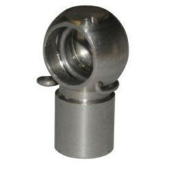 Glava plinske opruge (amortizera), promjer 10mm, inox, Osculati 38.020.25