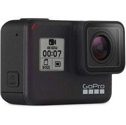 GoPro Hero 7 Black Bundle 2019 + Shorty (Mini Extension Pole + Tripod) + Rechargeable Battery HERO 7 Black + Sandisk Micro SD 32GB