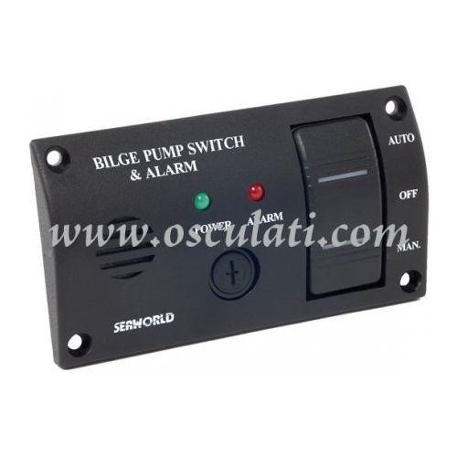 Komandna ploča za kontrolu kaljužnih pumpi