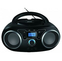 MANTA CD player BBX004, FM, USB, MP3, LCD, DC + baterije, crni