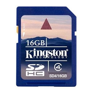 Memorijska kartica Kingston SD 16GB HC Class4, SD4/16GB