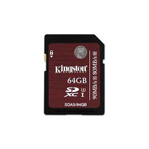 Memorijska kartica Kingston SD 64GB UHS-I Ultimate Class 10