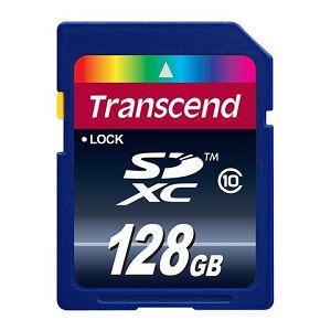 Memorijska kartica Transcend SD 128GB XC SPD Class 10