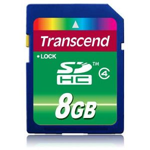 Memorijska kartica Transcend SD 8GB HC Class 4