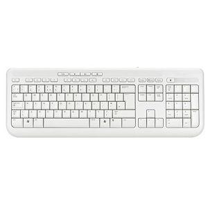 Microsoft Wired Keyboard 600 White, ANB-00032