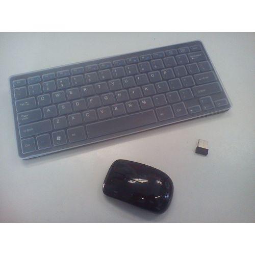 Mini bežićna tipkovnica i miš