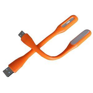 MS LED lampica na USB narančasta