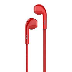 MS SHAKE crvene in-ear slušalice s mikrofonom
