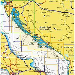 Navionics+ Local kartografija 5G525S2 (Rab-Petrovac CG)