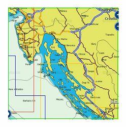 Navionics+ Local kartografija 5G820S (Fano-Šibenik)