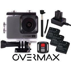 Overmax sportska kamera ACTIVECAM 5.1, 4k, WiFi, sa opremom