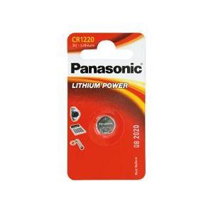 PANASONIC baterije CR-1220EL/1B Lithium Coin