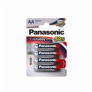 PANASONIC baterije LR6EPS/4BP Alkaline Everyday Power