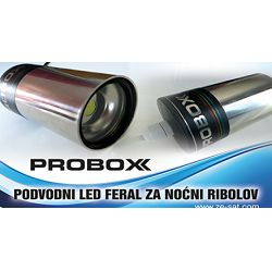 LED lignjolovka potopna FERAL1 10W, 800-900 Lm, PROBOX
