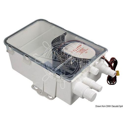 Posuda za skupljanje sivih voda sa automatskom pumpom 12V
