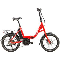 PUCH Compact el.sklopivi bicikl, Bosch A + 400Wh 45cm, crveno